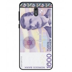 1000 Norwegian Kroner Note Cover For Nokia 2