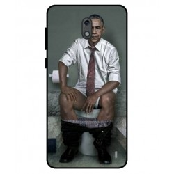 Durable Obama On The Toilet Cover For Nokia 2