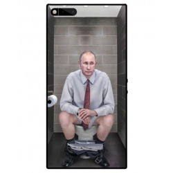 Durable Vladimir Putin On The Toilet Cover For Razer Phone