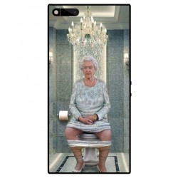 Durable Queen Elizabeth On The Toilet Cover For Razer Phone