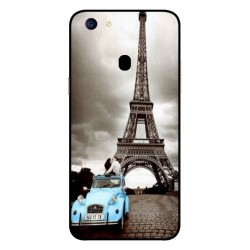 Durable Paris Eiffel Tower Cover For Oppo F5
