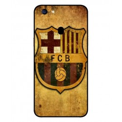 Durable FC Barcelona Cover For Oppo F5