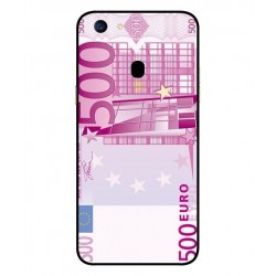 Durable 500 Euro Note Cover For Oppo F5