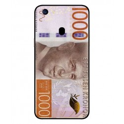 Durable 1000Kr Sweden Note Cover For Oppo F5