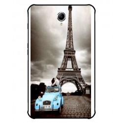 Durable Paris Eiffel Tower Cover For Samsung Galaxy Tab 4 Active