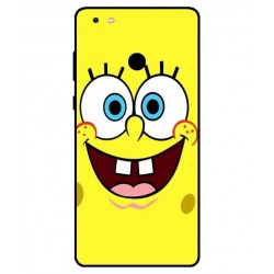 Durable SpongeBob Cover For Gionee M7 Power