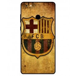Durable FC Barcelona Cover For Gionee M7 Power