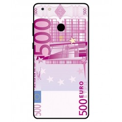 Durable 500 Euro Note Cover For Gionee M7 Power