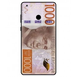 Durable 1000Kr Sweden Note Cover For Gionee M7 Power