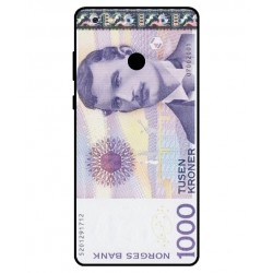 1000 Norwegian Kroner Note Cover For Gionee M7 Power
