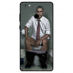 Durable Obama On The Toilet Cover For Gionee M7 Power