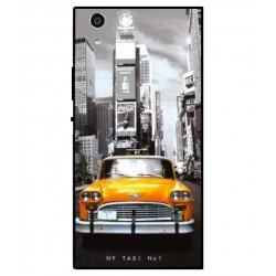 Durable New York Cover For Sony Xperia R1 Plus