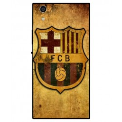 Durable FC Barcelona Cover For Sony Xperia R1 Plus