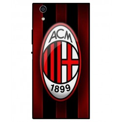 Durable AC Milan Cover For Sony Xperia R1 Plus