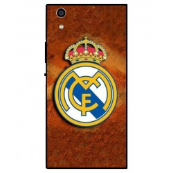 Durable Real Madrid Cover For Sony Xperia R1 Plus