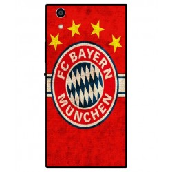 Durable Bayern De Munich Cover For Sony Xperia R1 Plus