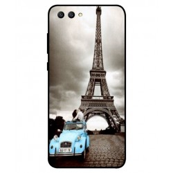 Durable Paris Eiffel Tower Cover For Huawei Honor View 10