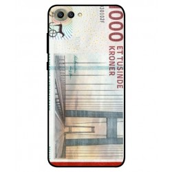 Coque De Protection Billet de 1000 Couronnes Danoises Pour Huawei Honor View 10