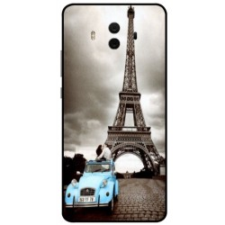 Durable Paris Eiffel Tower Cover For Huawei Mate 10