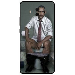 Durable Obama On The Toilet Cover For Huawei Mate 10