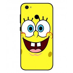 Durable SpongeBob Cover For ZTE Blade A6