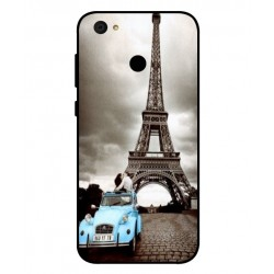 Durable Paris Eiffel Tower Cover For ZTE Blade A6