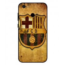 Durable FC Barcelona Cover For ZTE Blade A6