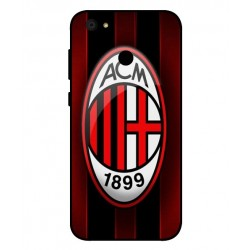 Durable AC Milan Cover For ZTE Blade A6