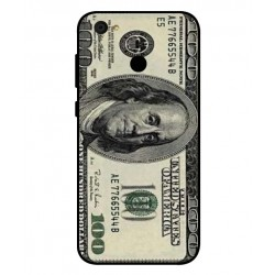 Durable 100 Dollar Note Cover For ZTE Blade A6