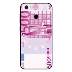 Durable 500 Euro Note Cover For ZTE Blade A6