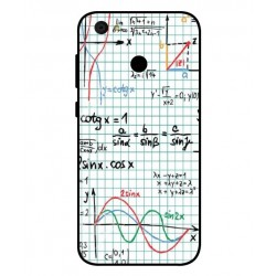 Durable Mathematics Cover For ZTE Blade A6