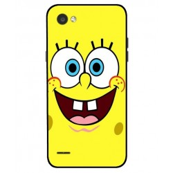 Durable SpongeBob Cover For LG Q6
