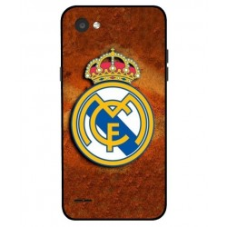 Durable Real Madrid Cover For LG Q6