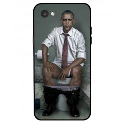 Durable Obama On The Toilet Cover For LG Q6