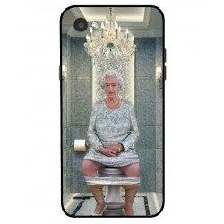 Durable Queen Elizabeth On The Toilet Cover For LG Q6