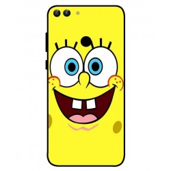 Durable SpongeBob Cover For Huawei P Smart