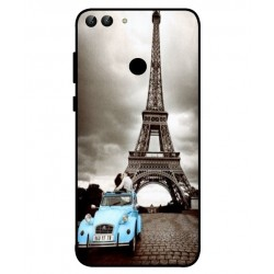Durable Paris Eiffel Tower Cover For Huawei P Smart