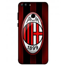 Durable AC Milan Cover For Huawei P Smart