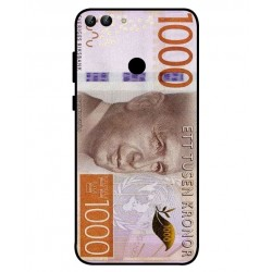 Durable 1000Kr Sweden Note Cover For Huawei P Smart