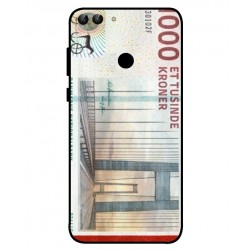 1000 Danish Kroner Note Cover For Huawei P Smart