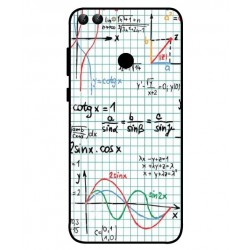 Durable Mathematics Cover For Huawei P Smart