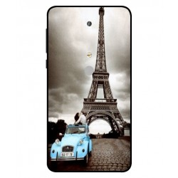 Durable Paris Eiffel Tower Cover For Nokia 6 2018