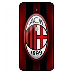 Durable AC Milan Cover For Nokia 6 2018