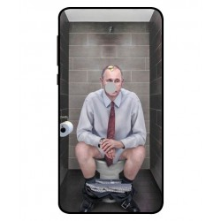 Durable Vladimir Putin On The Toilet Cover For Nokia 6 2018