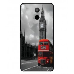 Coque De Protection Londres Pour BQ Aquaris U Plus