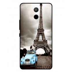 Coque De Protection Paris Pour BQ Aquaris U Plus
