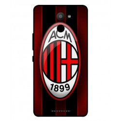 AC Milan Cover Til BQ Aquaris U Plus