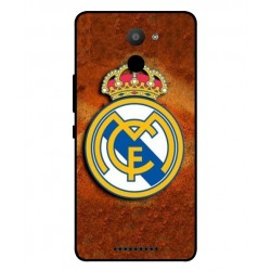 Real Madrid Cover Til BQ Aquaris U Plus