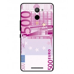 Coque De Protection Billet de 500 Euro Pour BQ Aquaris U Plus