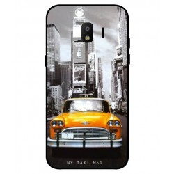 Durable New York Cover For Samsung Galaxy J2 Pro 2018